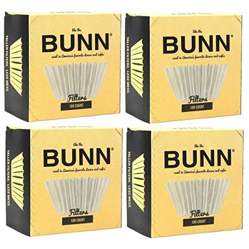 BUNN BCF100-B 100-Count Basket Filter (Pack of 4)...
