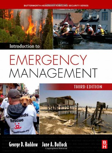 Introduction to Emergency Management, Third Edition...