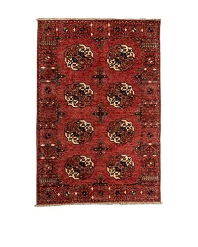 RugSense tapijt Turkmeense veelkleurige 161 x 107 cm