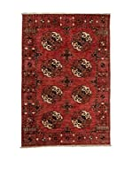 Navaei & Co. Alfombra Turkmen Rojo/Multicolor 161 x 107 cm