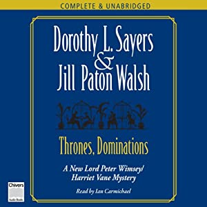 Thrones, Dominations | [Dorothy L. Sayers, Jill Paton Walsh]