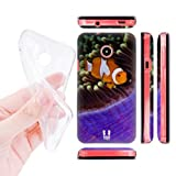 Head Case Designs Clown Fish Under the Sea Soft Gel Back Case Cover for Huawei Ascend Y330