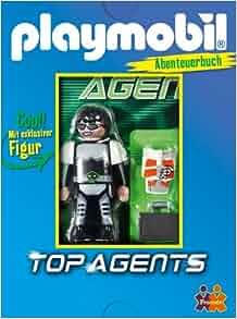 PLAYMOBIL: Top-Agents. Abenteuerbuch: Friendz: 9783863183066: Amazon