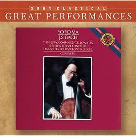 Bach: Unaccompanied Cello Suites [Great Performances]