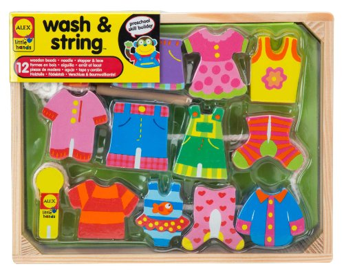 ALEX Toys Little Hands Wash & String