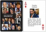 Obama Playing Cards, Cast of 52 Characters Including Czars, Tax Cheats, Marxists, Communists, and mo