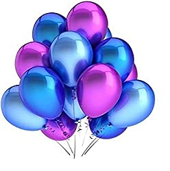 Theme My Party Dual Color Balloons (50 Balloons)