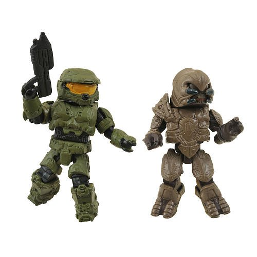 Picture of Diamond Select Halo Minimates Series 1 Mini Figure 2Pack Master Chief Arbiter (B004GMM0QA) (Halo Action Figures)