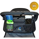 The Luna Bag - Universal Stroller Organizer of the Highest Quality - Lifetime Guarantee
