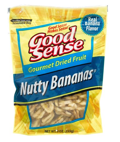 Buy Good Sense Trail Mix, Nutty Bananas - Large Bag, 9-Ounce Bags (Pack of 12) (Good Sense, Health & Personal Care, Products, Food & Snacks, Snacks Cookies & Candy, Snack Food, Trail Mix)