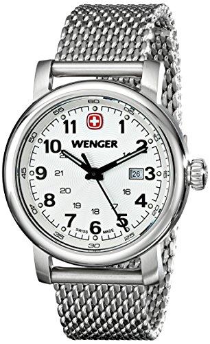 Wenger-Womens-1021103-Analog-Display-Swiss-Quartz-Silver-Watch