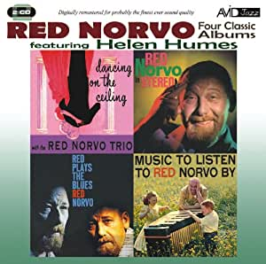 Four Classic Albums (Dancing On The Ceiling / Red Norvo In Stereo / Red Plays The Blues / Music To Listen To Red Norvo By)
