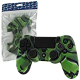 Cheapest ZedLabz soft silicone rubber skin grip cover for Sony PS4 controller with ribbed handle  camo green on Xbox One