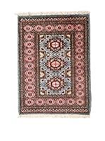 QURAMA Alfombra Kashmir Rojo/Multicolor 88 x 63 cm