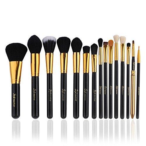 comparamus kit de pinceau maquillage professionnel 15 pcs ombre paupi re blush fondation. Black Bedroom Furniture Sets. Home Design Ideas