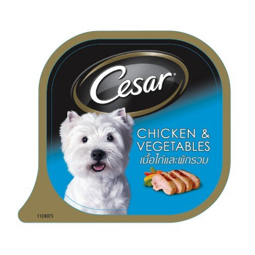 Dog Snack Cesar Chicken And Vegetables 100 G.(Pack Of 3)