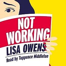 Not Working | Livre audio Auteur(s) : Lisa Owens Narrateur(s) : Tuppence Middleton