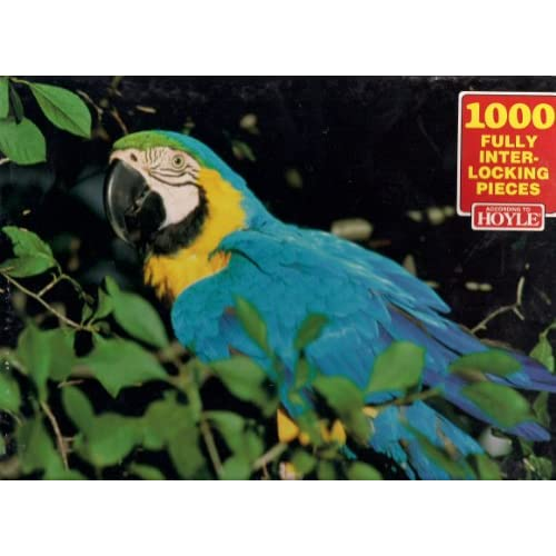 According to Hoyle 1000 Pc Jigsaw Puzzle Macaw: Toys