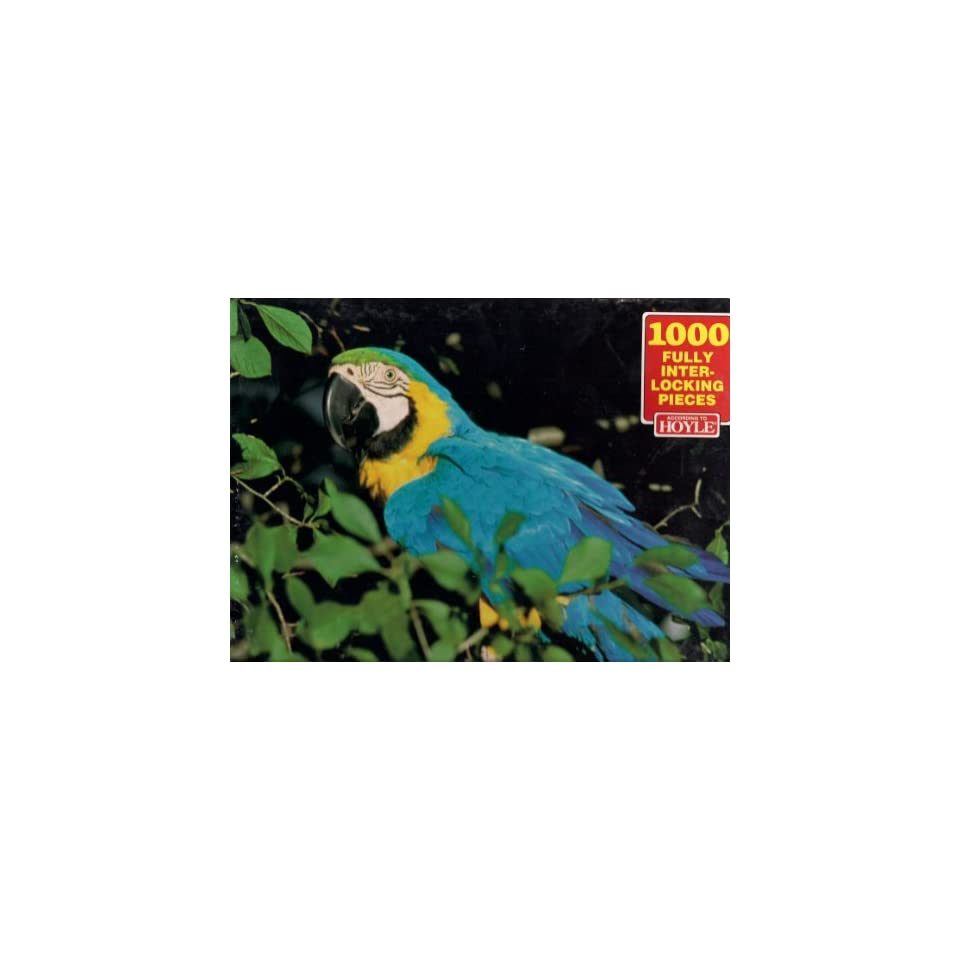 According to Hoyle 1000 Pc Jigsaw Puzzle Macaw Toys