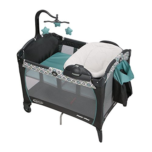 Big Save! Graco Pack 'N Play Playard Portable Napper and Changer, Affinia