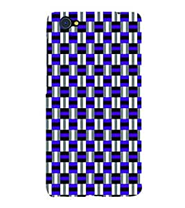 PrintVisa Corporate Print & Pattern Checks 3D Hard Polycarbonate Designer Back Case Cover for VivoX5Pro
