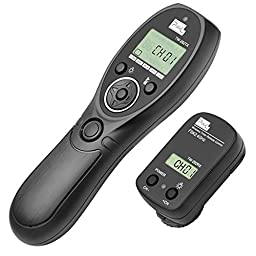 PIXEL TW-282/L1 Wireless Shutter Remote Control Release for Panasonic DMC G1,G2,G3,G5,G6,G7,G10,Gf1,GH1,GH2,GH3,GH4,etc.