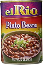 El Rio Beans Pinto Plain 15-Ounce Pack of 12