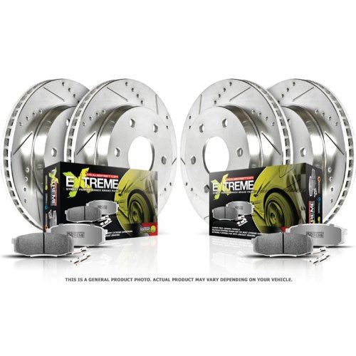 Autospecialty KOE2003 1-Click OE Replacement Brake Kit
