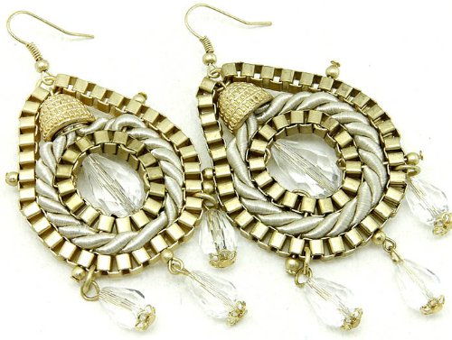 EARRING FISH HOOP METAL CREAM Fashion Jewelry Costume Jewelry fashion accessory Beautiful Charms