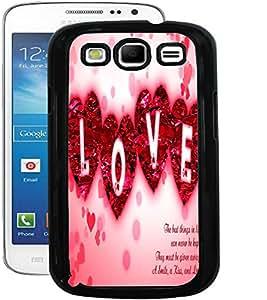 ColourCraft Love Quote Design Back Case Cover for SAMSUNG GALAXY S3 I9300 / I9305