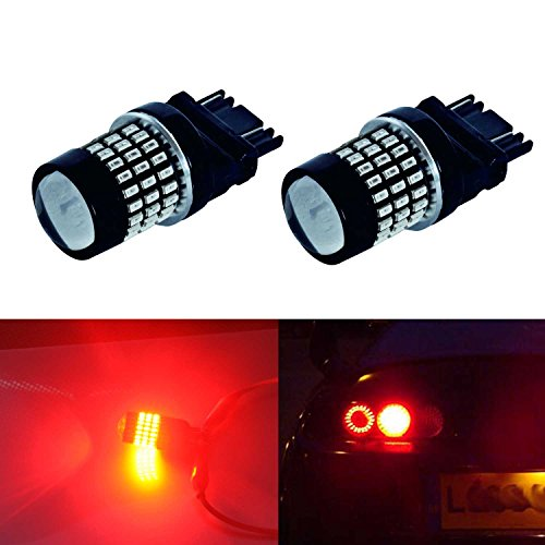 JDM ASTAR Super Bright 78-EX Chipsets 3056 3156 3057 3157 LED Bulbs with Projector,Brilliant Red. (96 Honda Accord Ex Tail Lights compare prices)