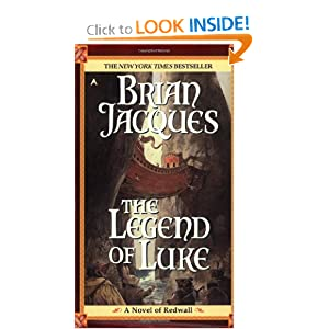 Legend Of Luke (Redwall) by Brian Jacques