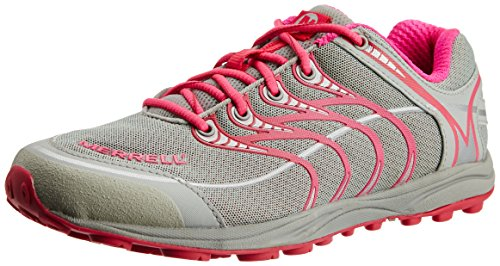 Merrell Mix Master Glide, Women's Running Shoes, J57822, Pink/Grey, 6.5 UK
