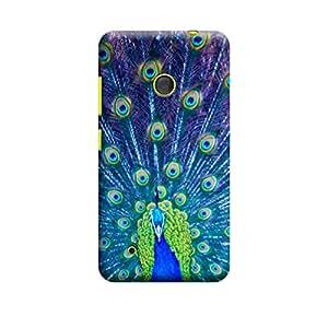 Qbic 3D High Quality Designer Mobile Back Case Cover For Nokia Lumia 530 (Premium Matte Finishing Back Case)