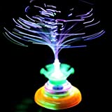Laser LED Classic Toy Music Gyro Colorful Light Peg-Top Spinning HOT top