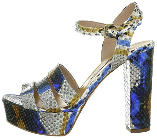 MANAS portofino, Sandali donna Blu Bluette, Blu (Bluette), 39