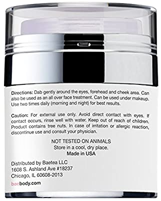 Cheapest Baebody Eye Cream for Dark Circles, Puffiness, Wrinkles and Bags - The Most Effective Anti Aging Eye Gel for Under and Around Eyes - 1.7 fl oz from Baebody - Free Shipping Available