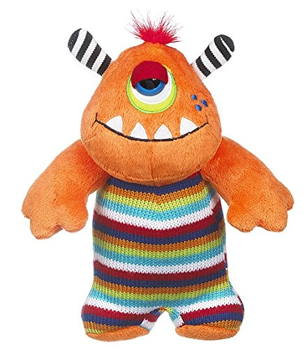 "Ganz 8"" Knitwits Plush Toy, Orange"