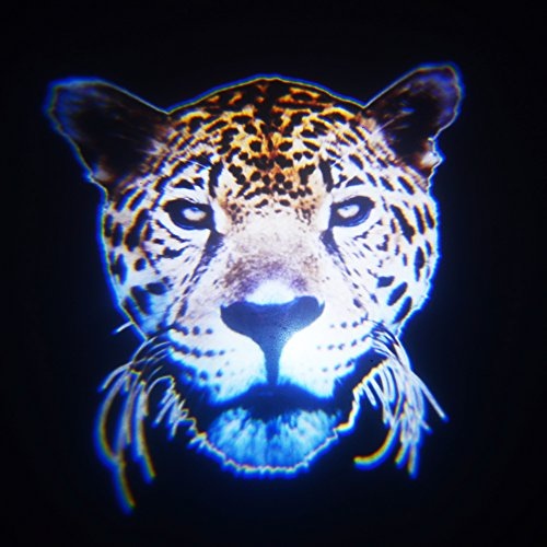 2X Cool Fashion Animal Leopard Head Car Door Led Projector Courtesy Welcome Logo Shadow Ghost Light Laser Projector Light front-409425