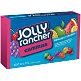 Jolly Rancher Gummies Candy, Assorted Flavors, 4.5-Ounce Boxes (Pack of 12)
