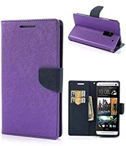 Mercury Flip Cover for MOTOROLA MOTO E Purple
