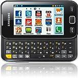 Samsung Wave 533 S5330 Smartphone (8,1 cm (3,2 Zoll) Display, Touchscreen, 3,2 Megapixel Kamera) schwarz