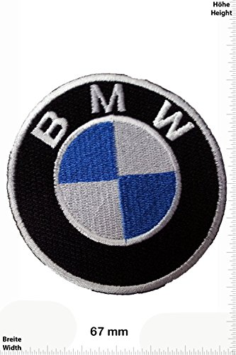 Patch - BMW - Logo- Cars - Motorsport - Racing Car Team - toppa - applicazione - Ricamato termo-adesivo - Give