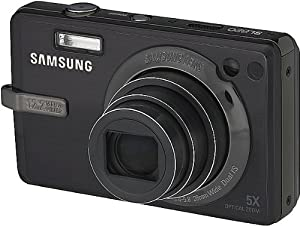 Samsung SL820 12MP Digital Camera with 5x Wide Angle Dual Image Stabilized Zoom and 3.0 inch LCD (Black)