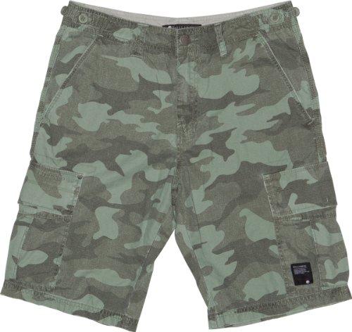 Billabong, Pantaloni corti Uomo Sheme Camo, Verde (surplus), 28