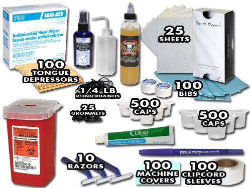 Tattoo Supply Replenishment Kit