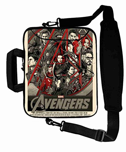 "Excellent Customized Colorful the avengers movie Shoulder Bag For Lady (10 Inch) For 9.7""iPad Air 2-iPad 1 2 3 4 5-Samsung Galaxy Tab 3 S T700-Note 10.1-Tab PRO-Google Nexus 10 - CB-10-5669"