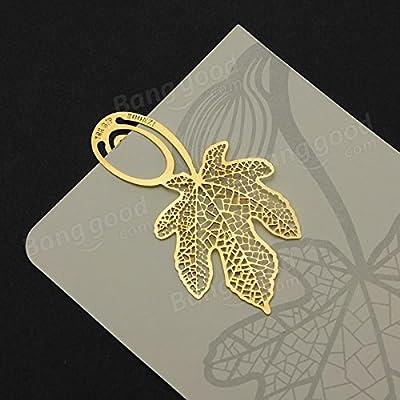 easyshop Goldene Lese Vierblättriges Kleeblatt Metallklammer Lesezeichen von easyshop4u bei Gartenmöbel von Du und Dein Garten