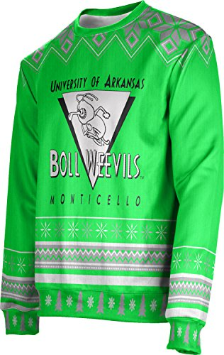 Adult University of Arkansas at Monticello Ugly Holiday Festive Sweater
