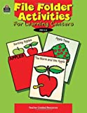 File Folder Activities for Learning Centers